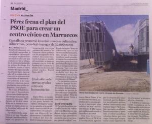 Centro Cívico en Marrruecos