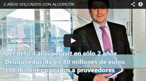 Dos años volcados con Alcorcón