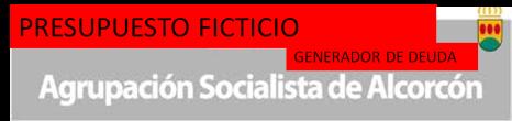 PRESUPUESTO PSOE