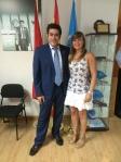 David Pérez y Sheila Matellán