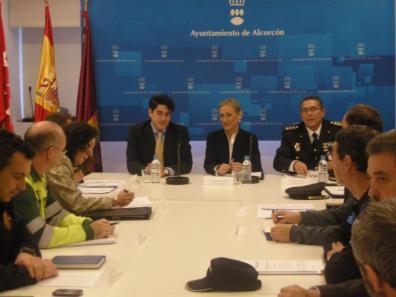 2012-02-07-Junta-Seguridad-Alcorcon- DAVID Y CRISTINA